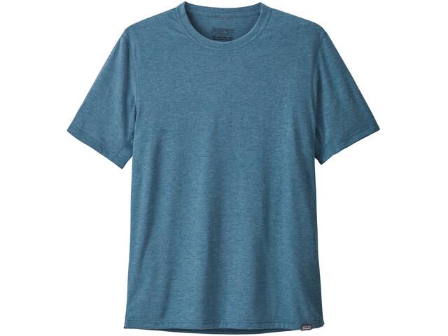 Patagonia Cap Cool Trail SS Shirt Herr big sur blue